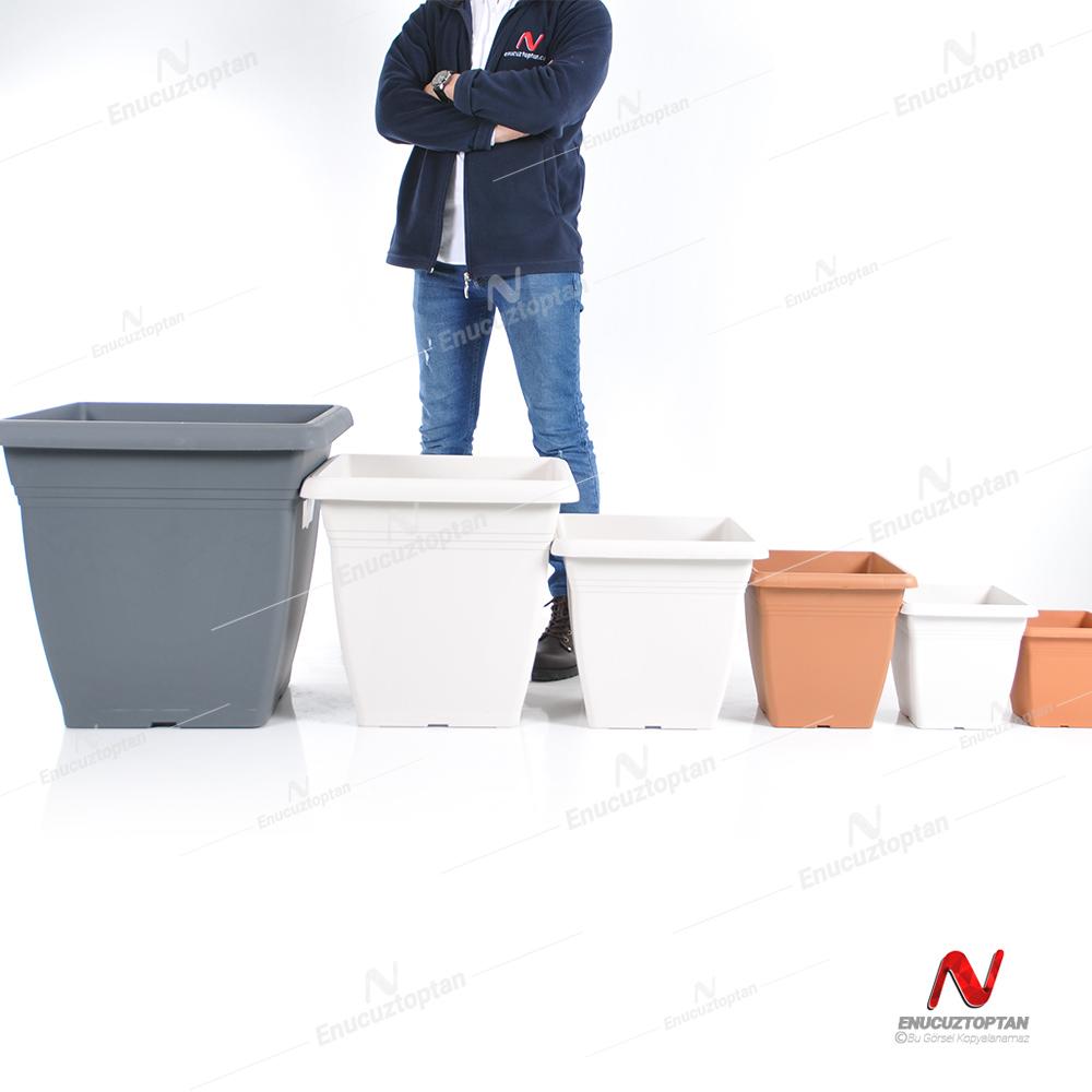 Serinova VK04 Villa Kare Dış Mekan Saksı No:4 - 32 Litre | ID1386