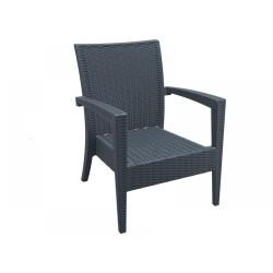 Siesta 850 Miami Lounge Rattan Koltuk Sandalye | ID1098