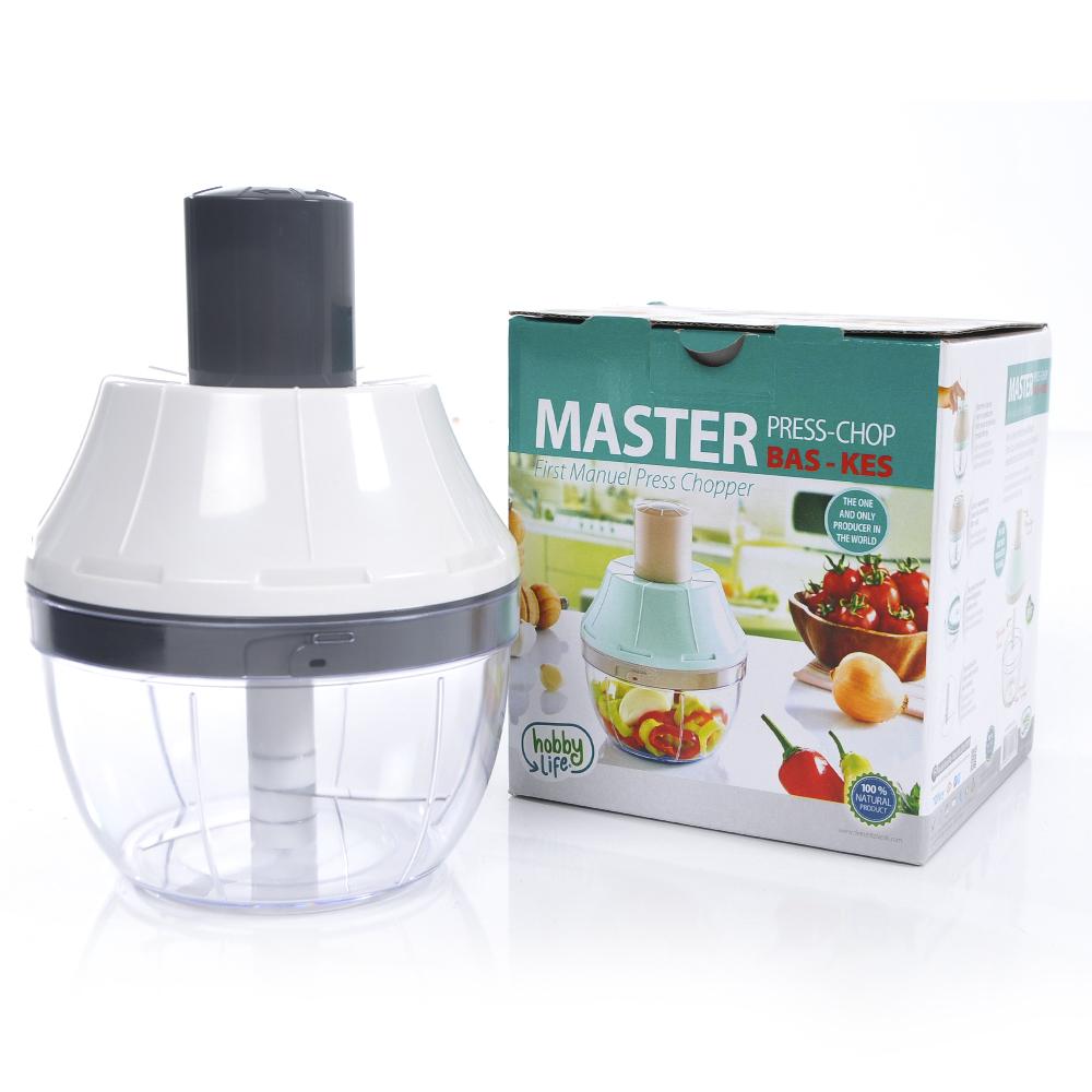 HobbyLife Master Meyve Sebze Kesici Motorsuz Blender - Bas-Kes | ID5568