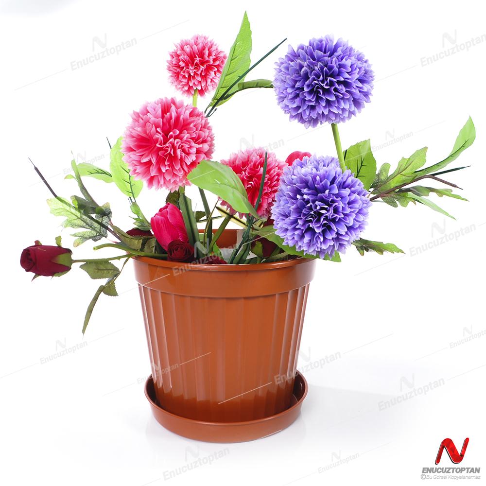 Serinova S210 Klasik Salon Çiçek ve Bitki Saksısı No:10 - 13 Litre | ID5533