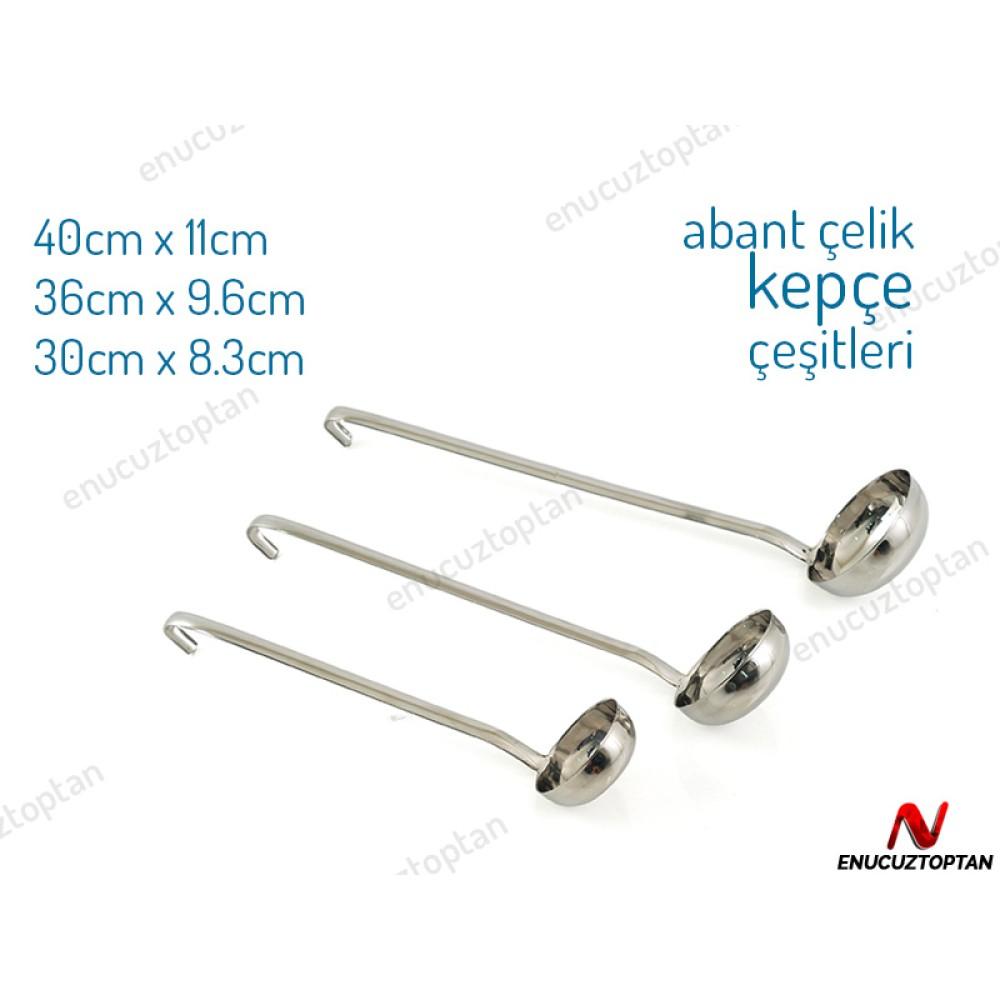 Abant Çelik Kepçe No:2 - 30cm | ID2463
