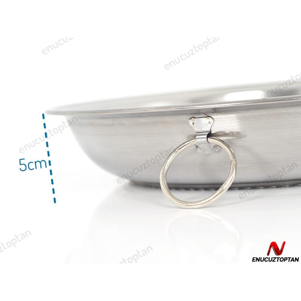 Abant Çelik Makarna Süzgeci No:2 - 31cm | ID2401