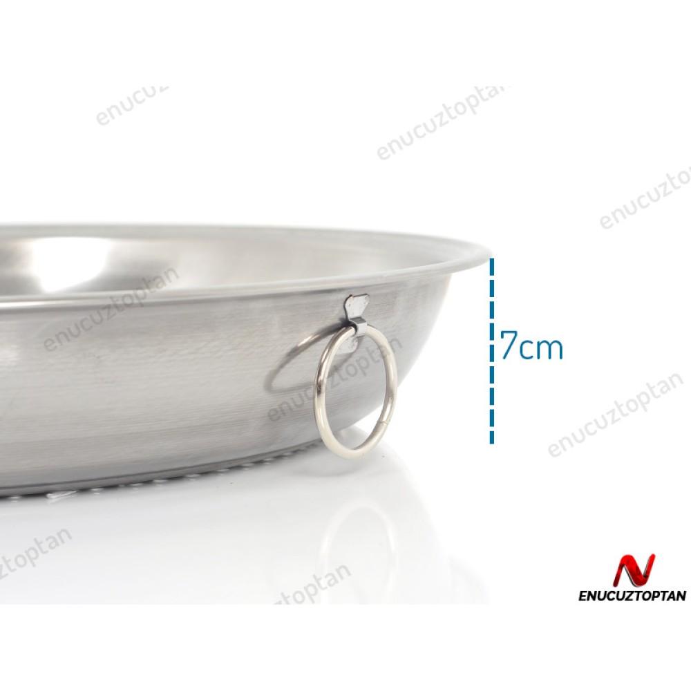 Abant Çelik Makarna Süzgeci No:6 - 46cm | ID2404
