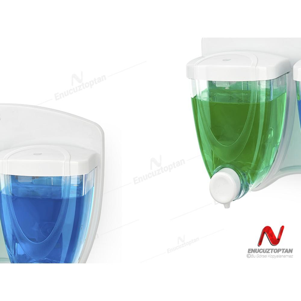 Flosoft 029 Sıvı Sabunluk İkili(1+1) 350+350 ml | ID3195
