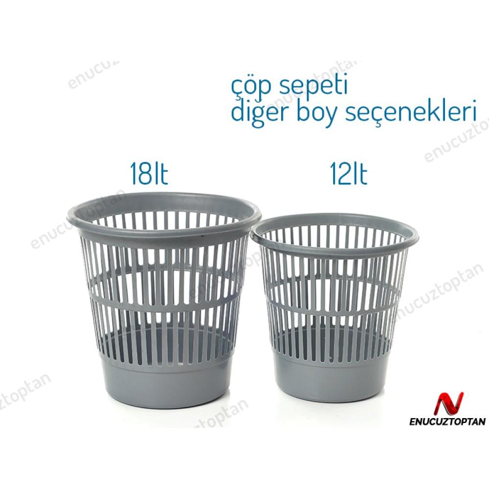 Bursev 4123 01 Ofis Çöp Sepeti No:1 - 12 Litre | ID2298