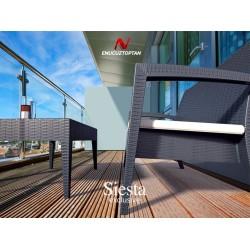 Siesta 845 Miami Lounge Rattan Koltuk | ID1097