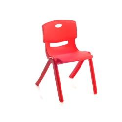 Alkan MA114 Plastik Renkli Çocuk Sandalyesi   ID2341
