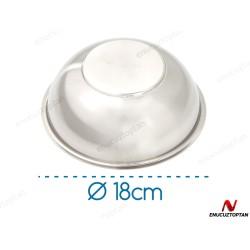 Abant 304 Çelik Kase No:5 - 18cm | ID3596