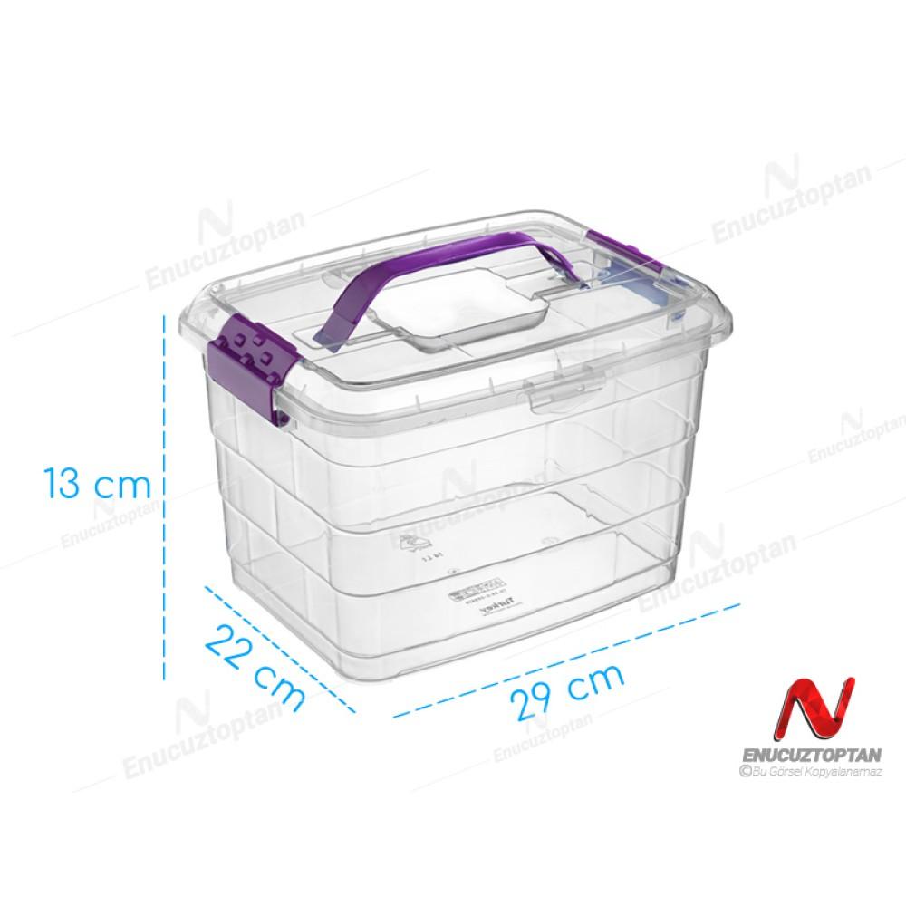 Bursev 1107 91 Tetris Kulplu Taşıma Kabı 5 Litre | ID3707