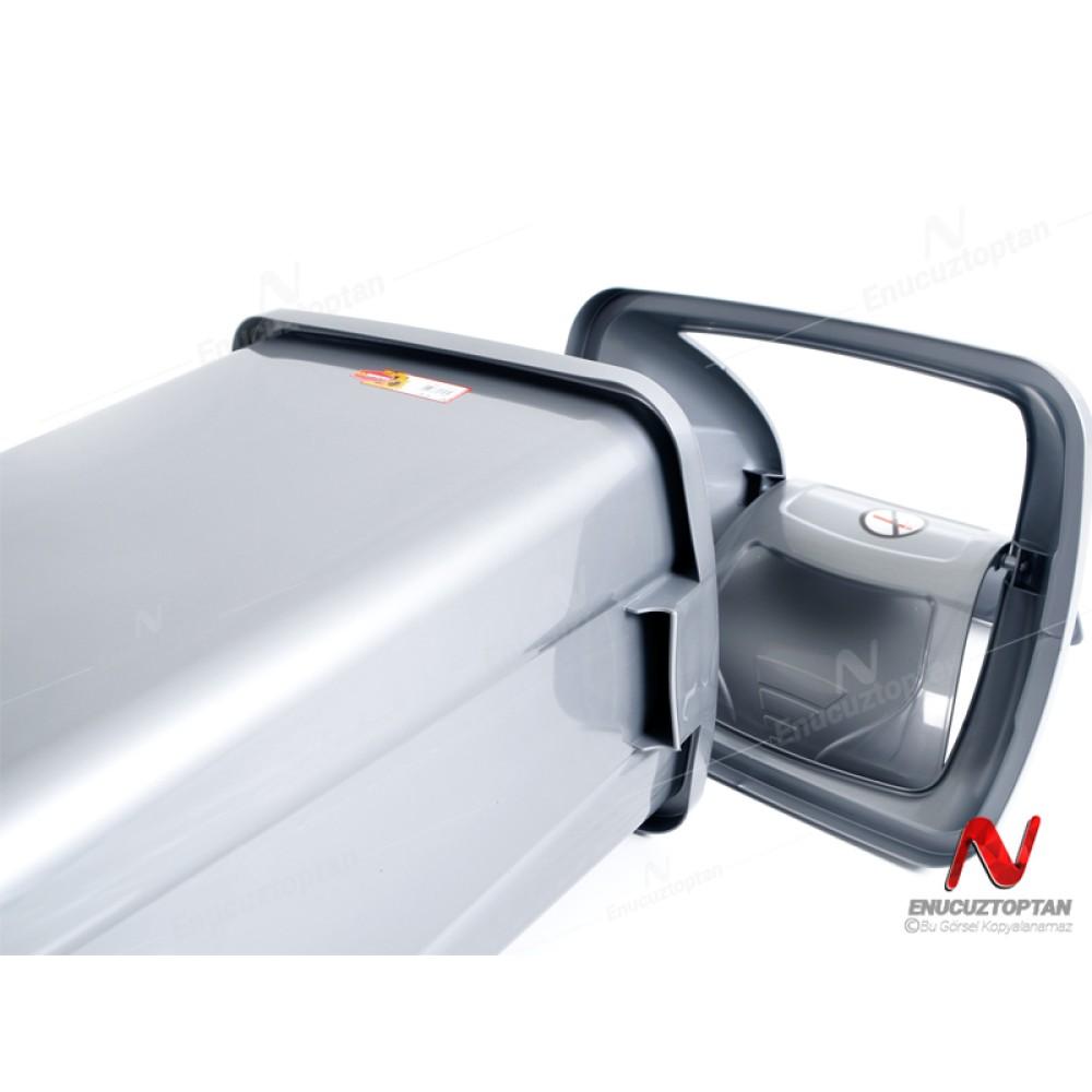 Şenyayla 4195 Kapaklı Çöp Kovası 50 Litre Plastik | ID4485