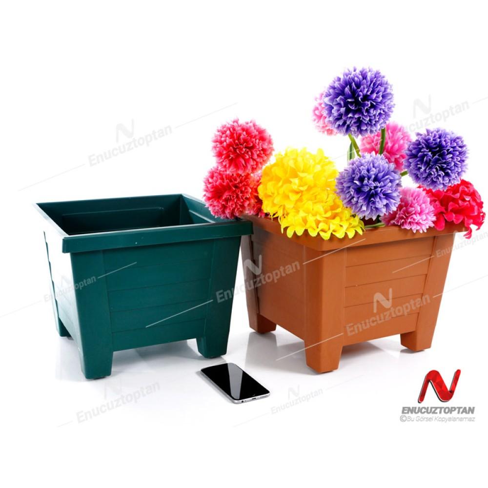 Serinova S425 Kare Bitki Çiçek Saksısı No:5 15lt Orta boy| ID4750