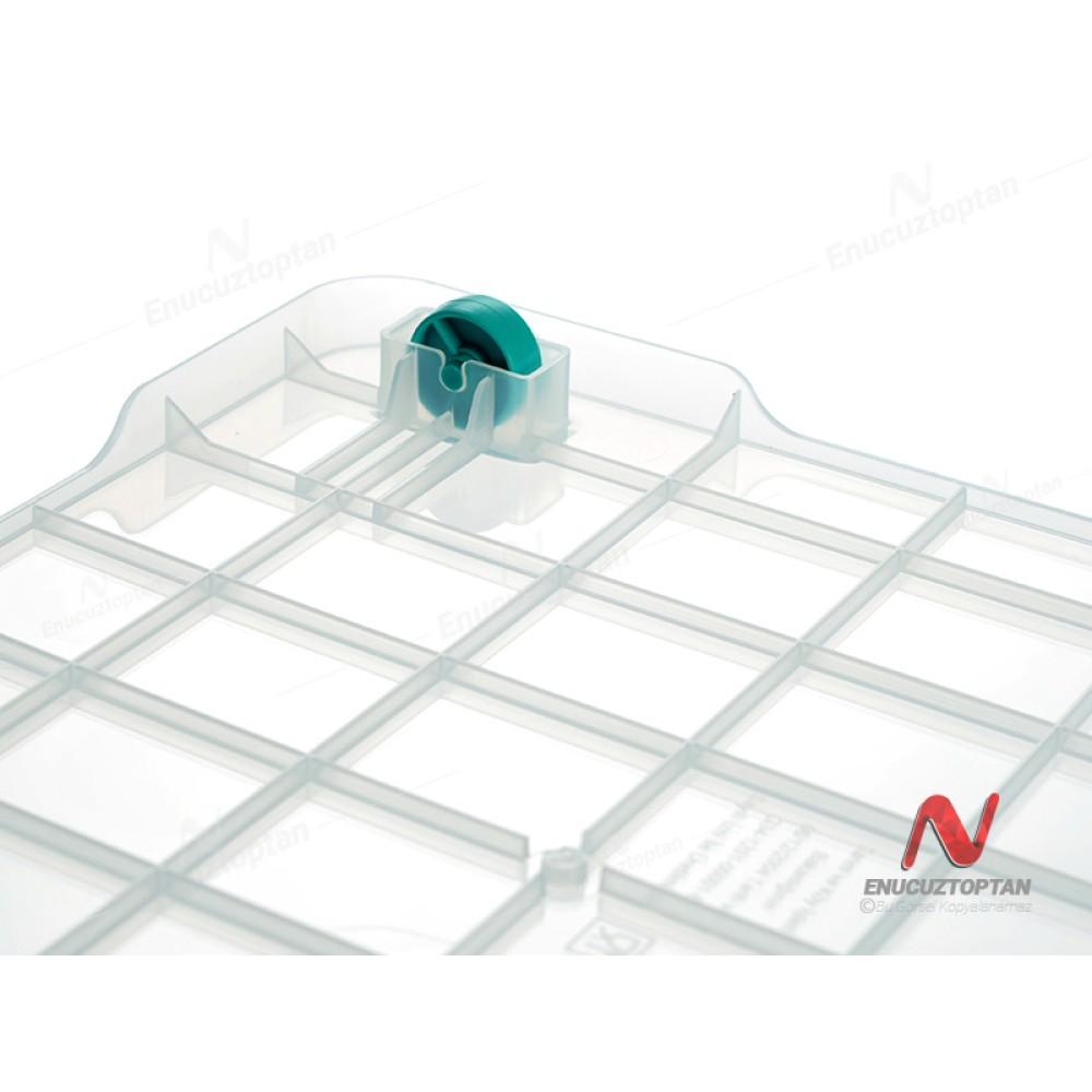HobbyLife 02 1108 Kapaklı Tekerlekli Multibox Saklama Kabı 40 Litre | ID2700