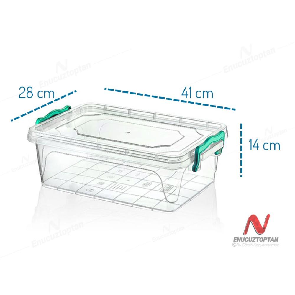 HobbyLife 02 1115 Kapaklı Multi Box Saklama Kabı 10 Litre | ID2710