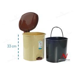 HobbyLife 01 1101 Kapaklı Pedallı Çöp Kovası 11.5 Litre | ID2741