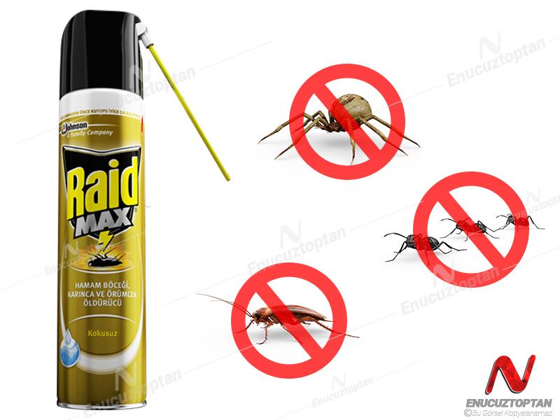 Raid Max Böcek Öldürücü Kokusuz 300 Ml