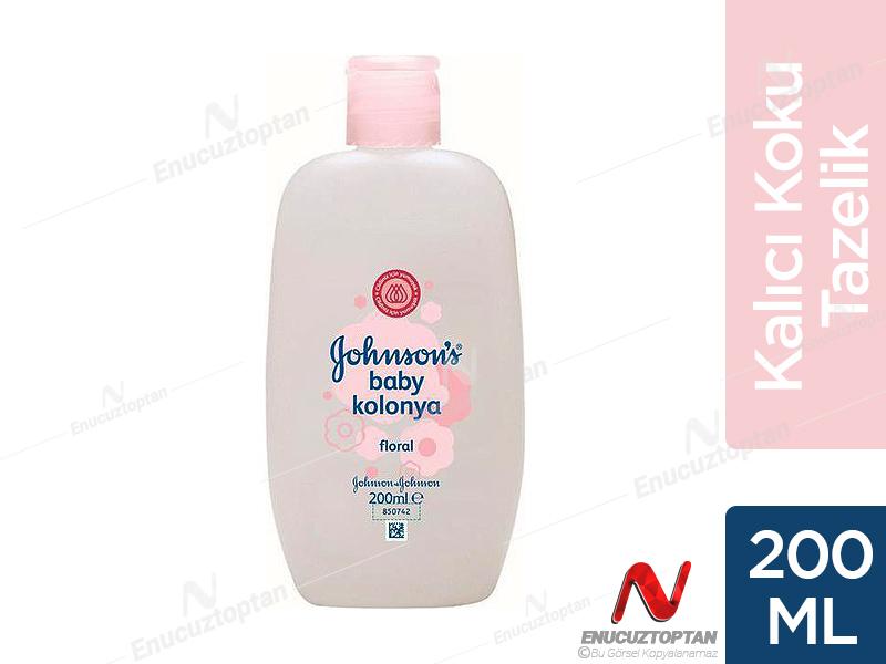 Johnsons Baby Bebek Kolonyası Floral 200 Ml